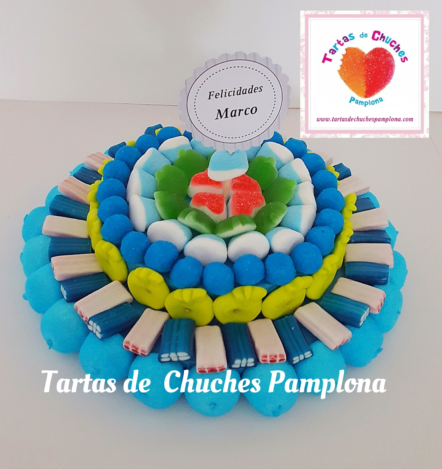Tartas de Chuches Pamplona : Tarta de chuches