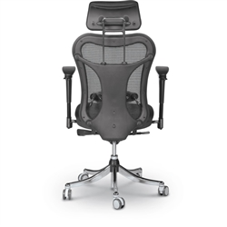 MooreCo Ergo Ex Chair - Back View
