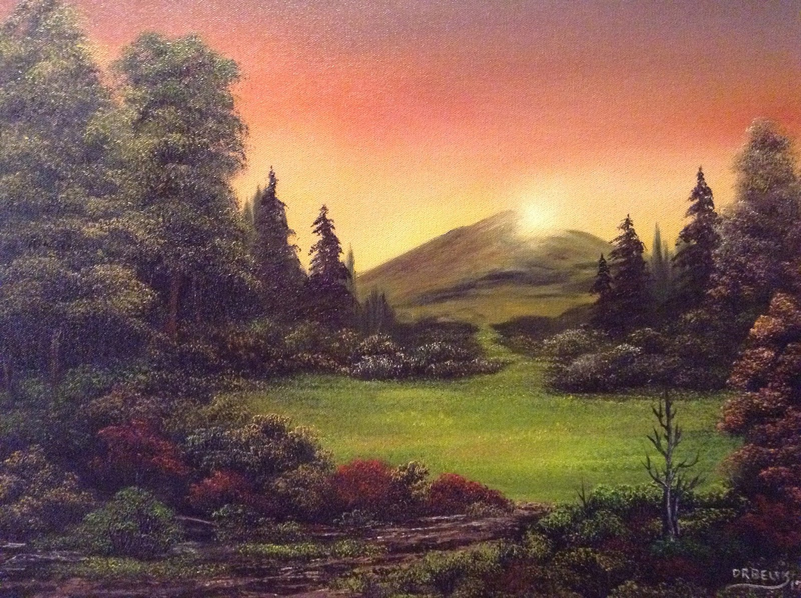 Don Belik Bob Ross Painting Classes Gallery 2017 2018 2019