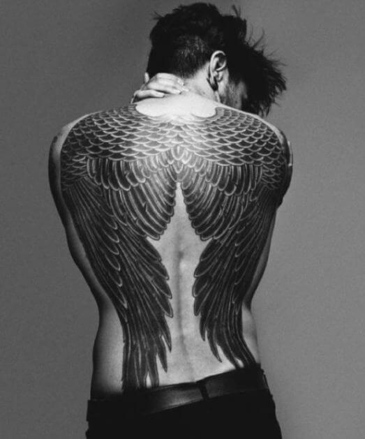 50 Gorgeous Angel Wing Tattoos Designs & Ideas (2018) - TattoosBoyGirl