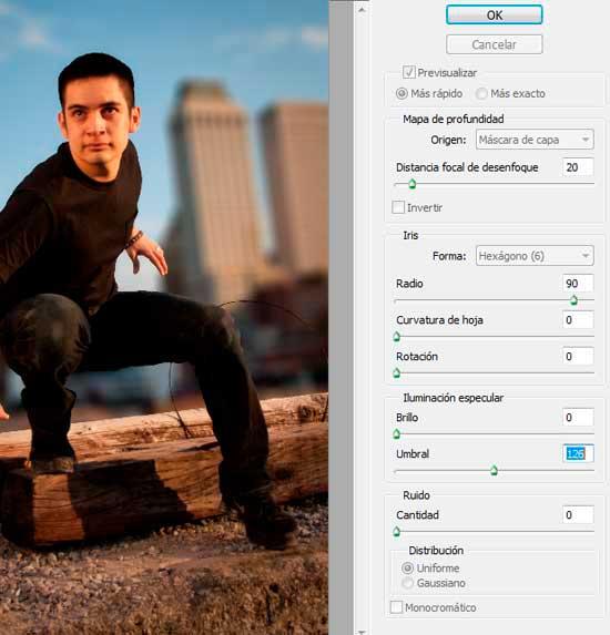 Tutorial Photoshop en Español Efecto Cine Paso 03