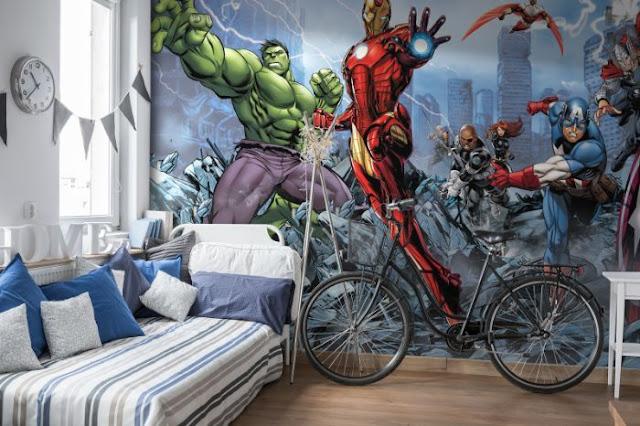 Avengers Wall Mural Marvel Photo Wallpaper