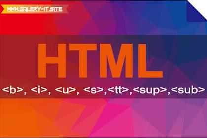 HTML5 #3 : Elemen-Elemen Presentasi Di HTML5