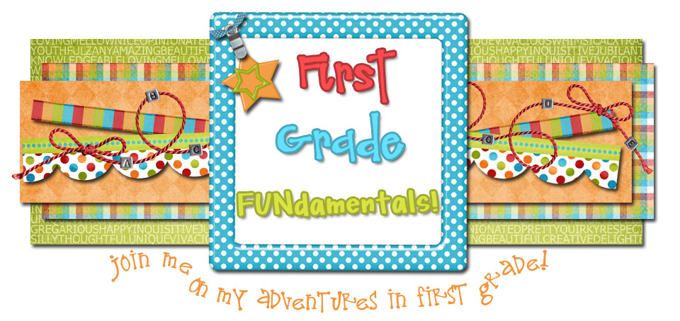 First Grade FUNdamentals!