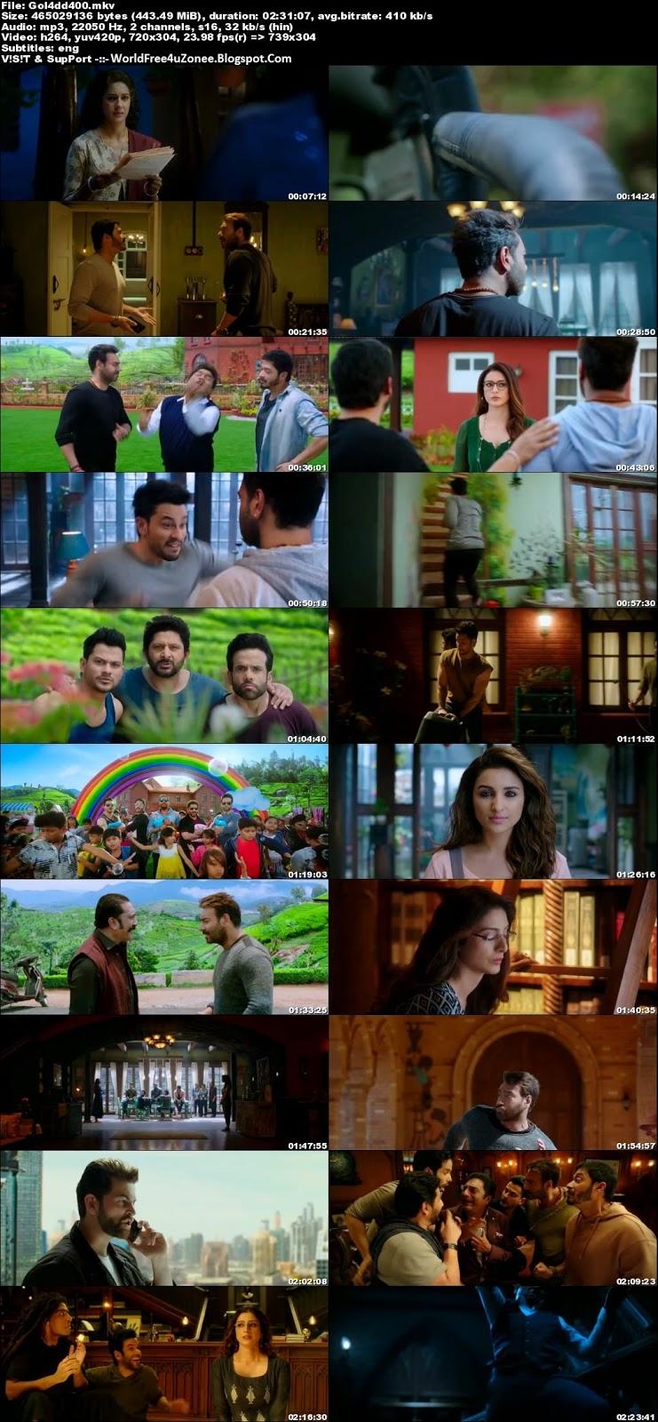 Golmaal Again (2017) Hindi DVDRip 480p 400MB Full Movie Free Download And Watch Online Latest Bollywood Hindi Movies 2017 Free At WorldFree4uZonee.Blogspot.Com