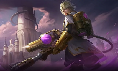 Build Kimmy magic damage paling sakit di mobile legend