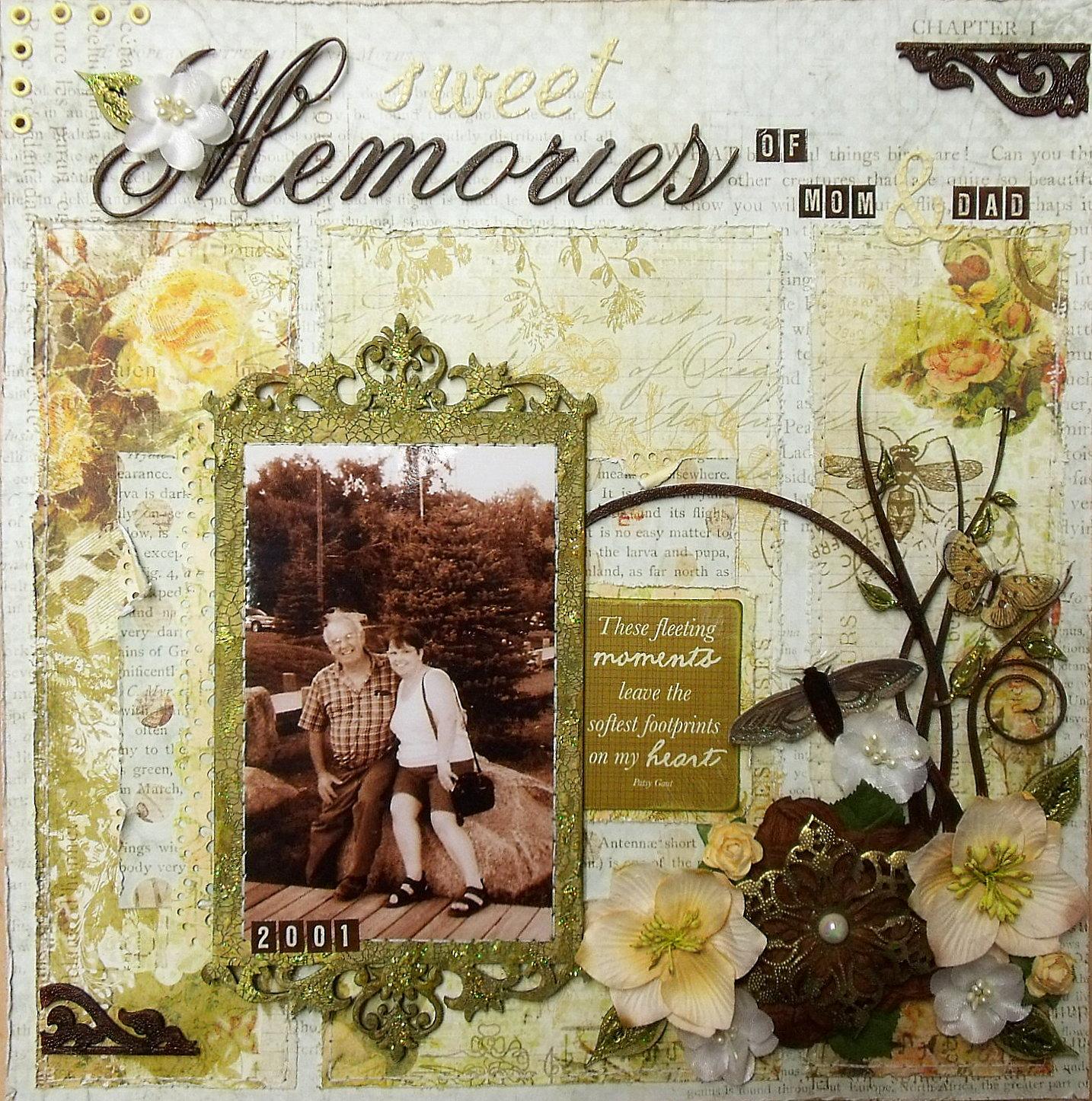 Scrap Utopia Sweet Memories Of Mom Amp Dad Lo