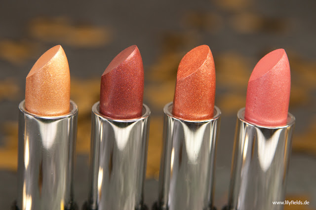 Crushed Foil - Lipsticks - 6, 7, 8 & 9