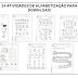 24 Atividades de Alfabetização para Download