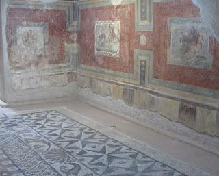 Museo Nacional de Arte Romano; mosaicos; pinturas; romanos; romanas Mérida; Badajoz; Extremadura; Vía de la Plata