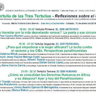 Mesas redondas sobre Panafricanismo en el Ateneo