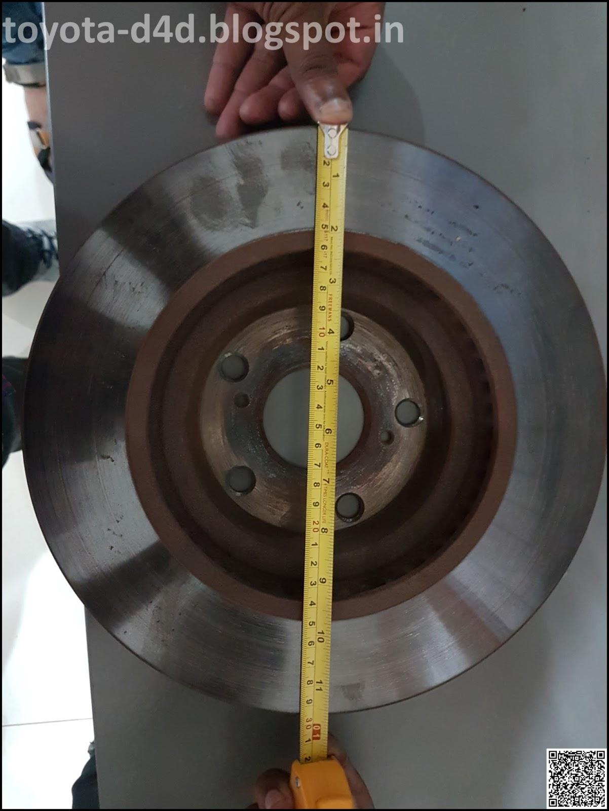 Toyota D4D: Brake Rotor Shield Removal & Wheel Upsize