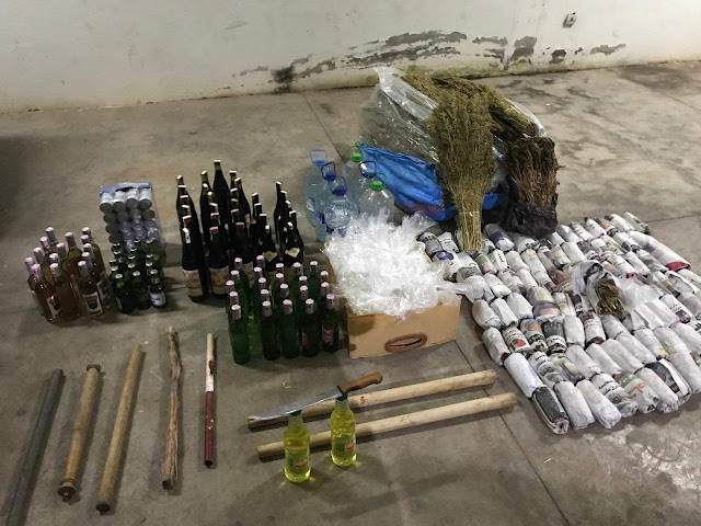عناصر الدرك الملكي ببرشيد تحجز كميات من الخمور و المخدرات والكوكايين بالكارة