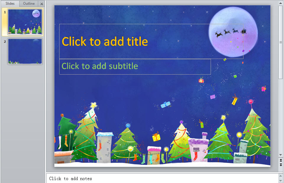 Free Download 2012 Christmas PowerPoint Backgrounds and Christmas - christmas powerpoint template