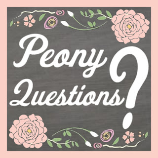 Peony Questions