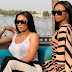 Bonang jets off to Nigeria to celebrate Toke Makinwa's birthday