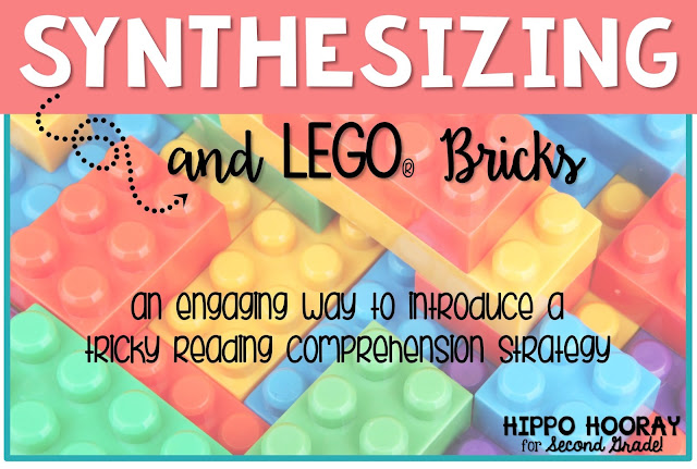A super easy, engaging activity to introduce the tricky reading comprehension strategy: synthesizing. Kids LOVE this lesson and can easily make the connection to this abstract reading strategy.