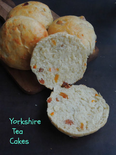 Yorkshire Tea Cakes, English Tea Cakes