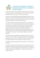 PRUEBAS DE LO POSIBLE