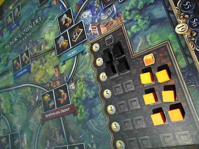 Brass Birmingham iron and coal market for boardgame