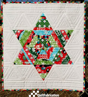 Adorn small wall quilt
