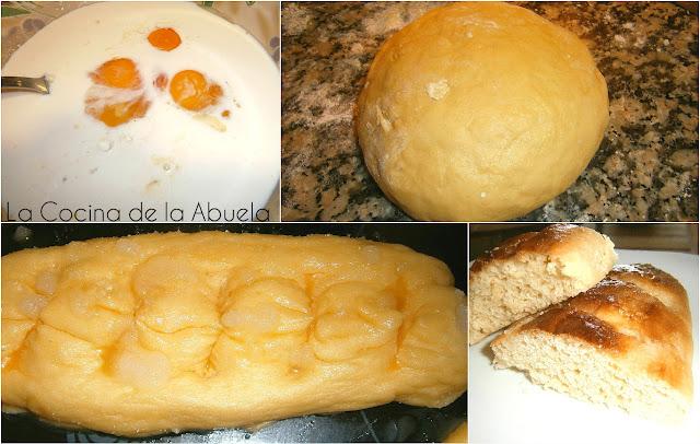 Barra pan leche. Pan dulce tradicional receta pasos