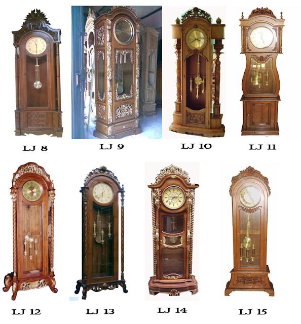 modern floor clock