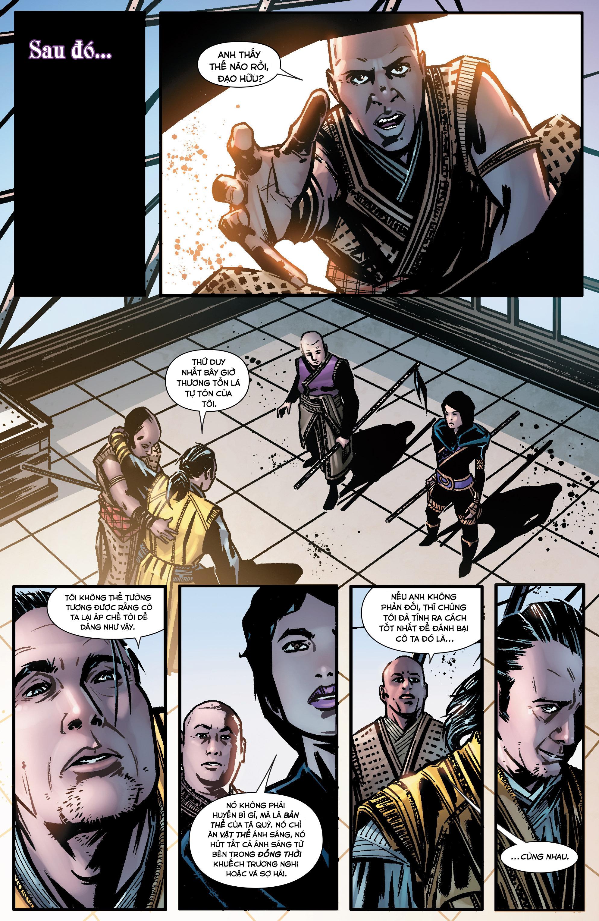 Doctor Strange Prelude kỳ 1 trang 10