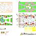 Aménagement de jardin DWG: Landscaping of garden dwg