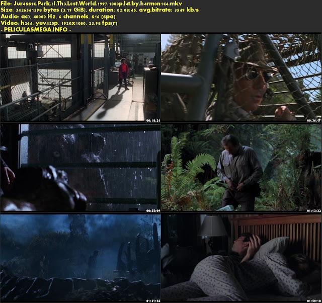 Descargar El mundo perdido: Jurassic Park Latino por MEGA.
