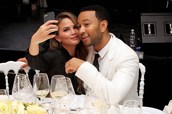 Krissi Teygen and John Legend
