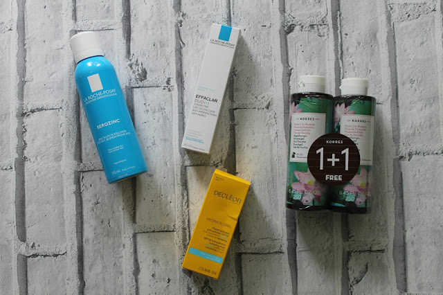 This Month I.... August, Look Fantastic, Haul, Beauty Haul, La Roche Posay, Decleor, Korres, Beauty, Blogger,