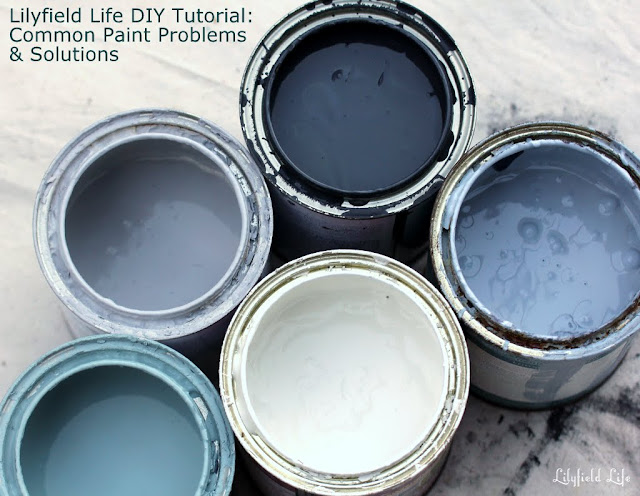 Common Paint Problems and Solutions