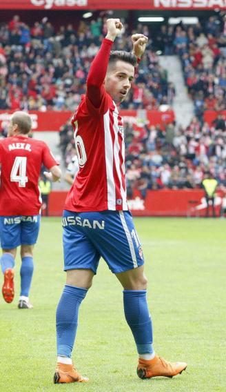 Jony vuelve a ser fundamental para el Sporting: Gol y asistencia