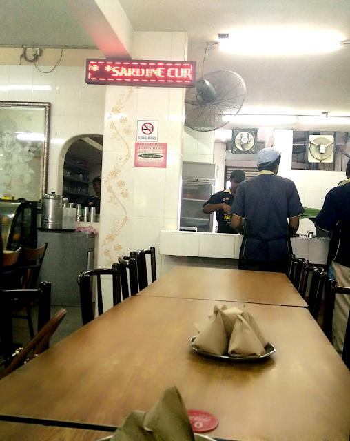Tempat makan best di Petaling Jaya, Restoran Abirami Kelana Jaya