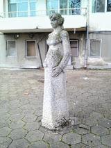 Statue, Pregnant Woman, Yambol, Maternity Hospital,