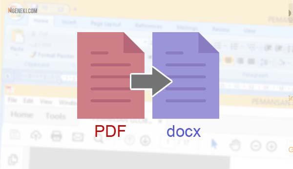 File PDF supaya bisa dibuka di Microsoft Word