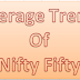 Average trend of nifty 50 : 02 April 2016