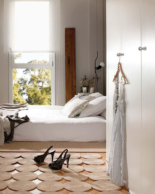 habitación en tonos neutros