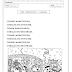 Ficha de Leitura com temática Carnaval para imprimir e colorir