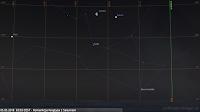 05.05.2018  03:55 CEST - Koniunkcja Księżyca z Saturnem