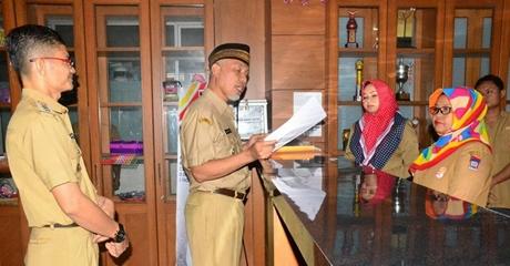 Sidak di Padang Utara, Walikota Ingatkan Pelayanan dan Kebersihan Kantor