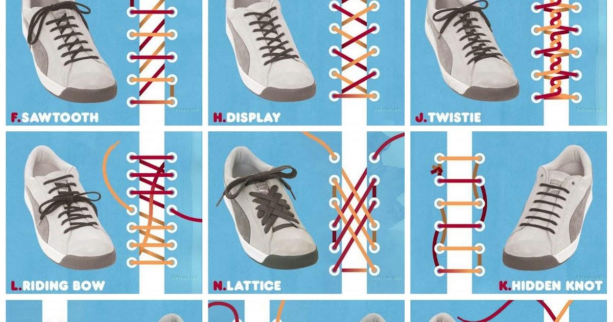 e 藏 庫: 鞋帶的綁法