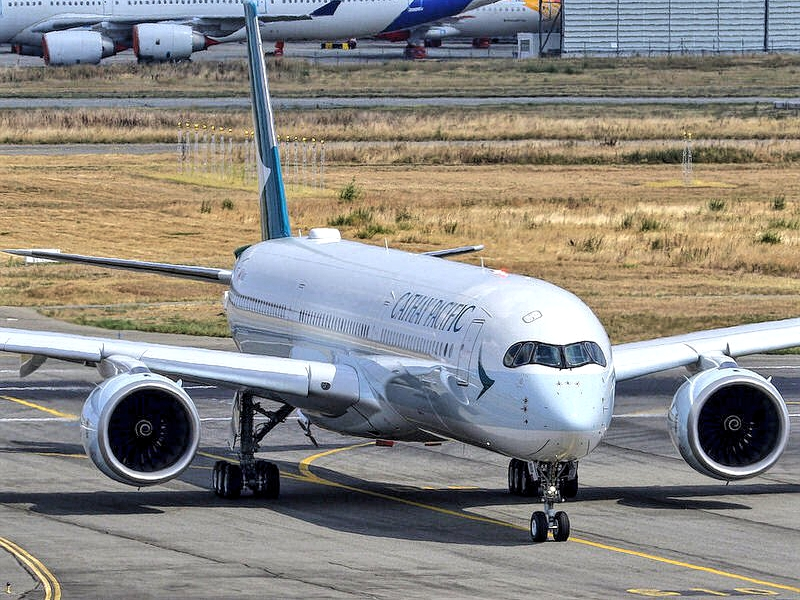Cathay Pacific Airbus A350-1000 B-LXB September 2018 Delivery