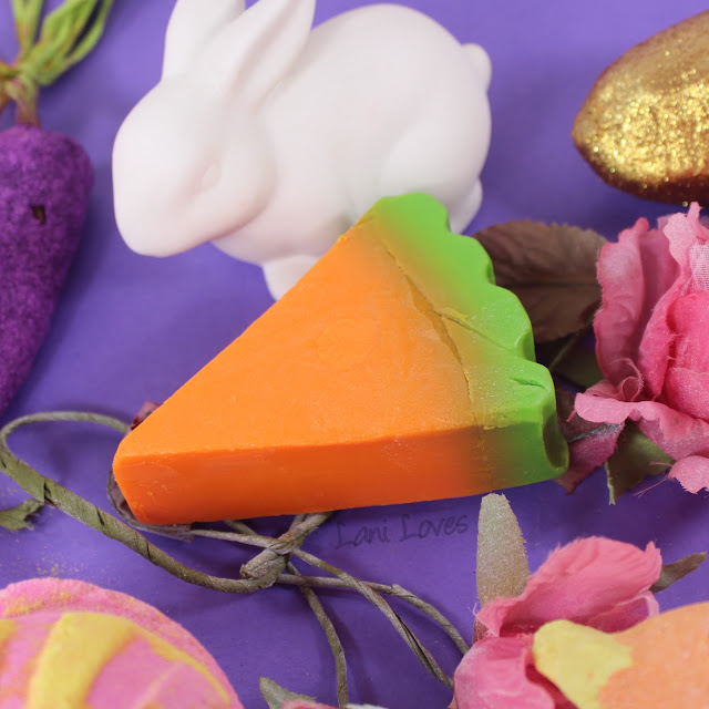 Lush Easter 2018 Carrot Soap Review