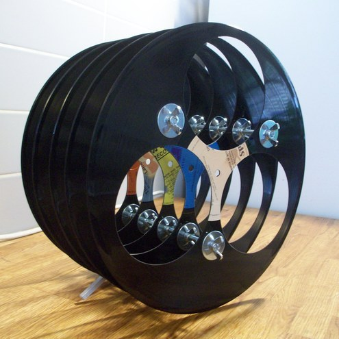How To Recycle Recycled Vinyl Record Crafts