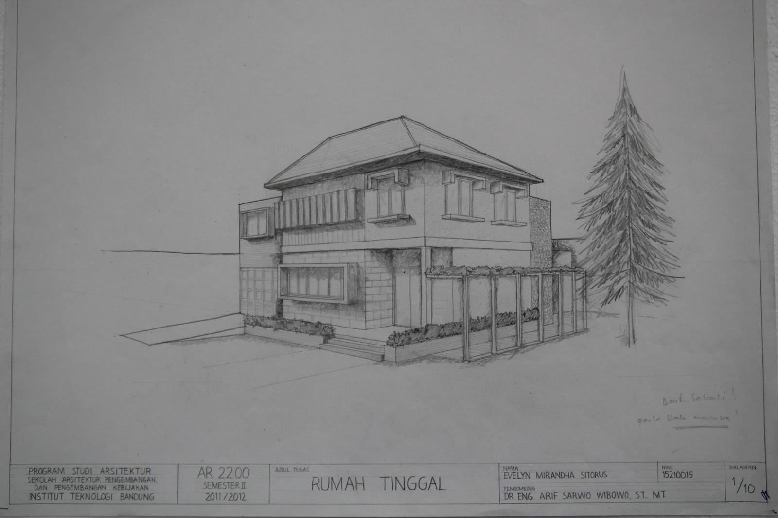 Sketsa Rumah Minimalis ramah lingkungan & Sketsa Rumah Minimalis Ramah Lingkungan | Info Berita Terkini