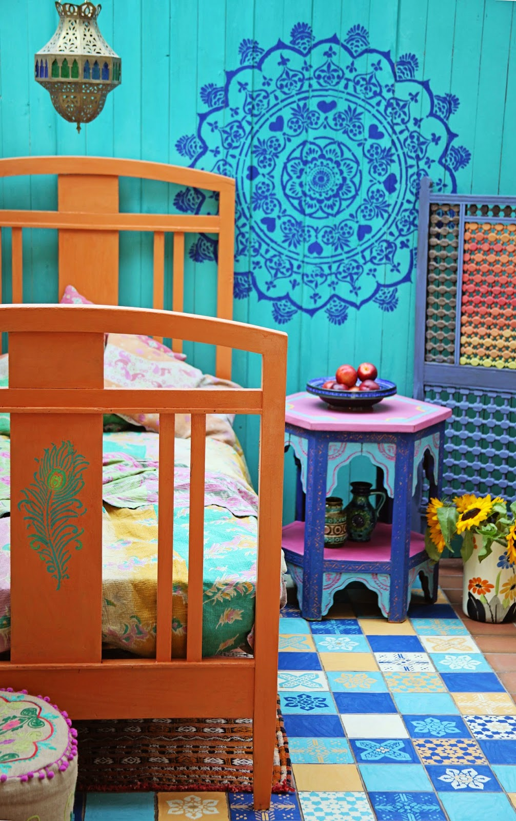 Annie Sloan Paint Amp Colour Janice Issitt S Moroccan