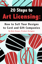 Kate harper blog should you license or self publish your designs get your cards into stores find and work with sales reps m4hsunfo