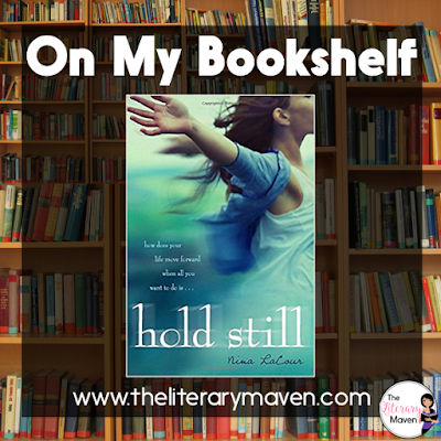 Hold Still by Nina LaCour is a heart breaking, ugly cry inducing kind of book so have your box of tissues ready. Caitlin is struggling with normalcy after the suicide of her best friend Ingrid. She finds Ingrid's journal, whose entries paint one of the most accurate depictions of depression that I've seen in literature. Every girl that has had that one best friend at one point in their lives, the kind of best friend that excludes the need for any other friends, will connect with the beauty of Caitlin's friendship with Ingrid while she was living. Read on for more of my review and ideas for classroom application.